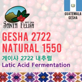 Gesha 2722 Natural 1550 (SOLD OUT)